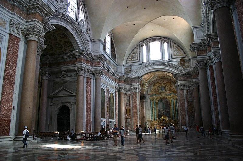 Fil: 3223 - Roma - Santa Maria degli Angeli - Interno - Foto Giovanni Dall'Orto 17-juni-2007.jpg