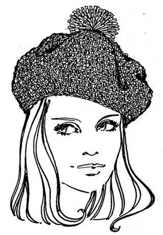 Headstart Hats Knit A Beret
