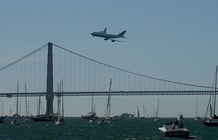 Fleet Week Air Show United Flyover