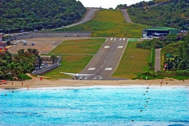 3. Gustaf III Airport, Saint Barthelemy