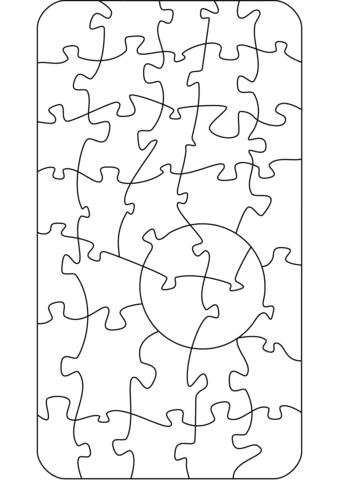 Dibujo De Patrón De Rompecabezas Para Colorear Dibujos Para