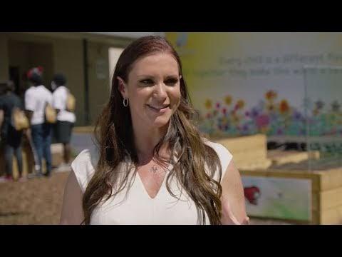 Stephanie McMahon & Titus O'Neil highlight WWE community efforts