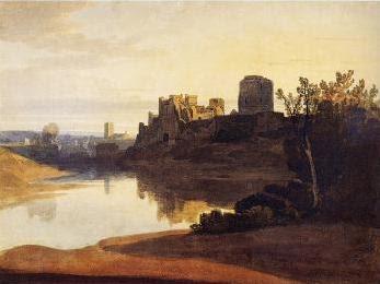 Pembroke Castles, Wales where Margaret's son was born (Image in the public domain)