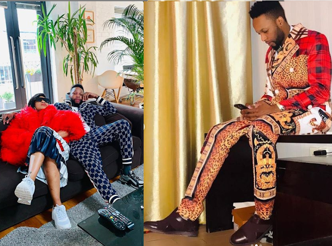 Toyin Lawani shares more photos of her handsome Congolese boyfriend DJO Prince, says he's 'a real prince'