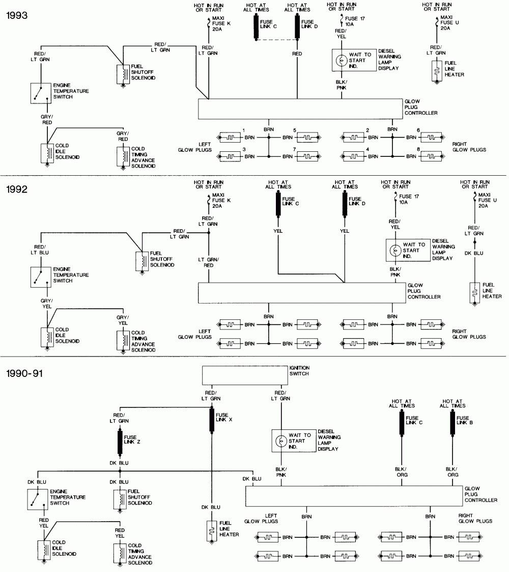 7.3 Idi Glow Plug Controller Wiring Diagram Awesome ...