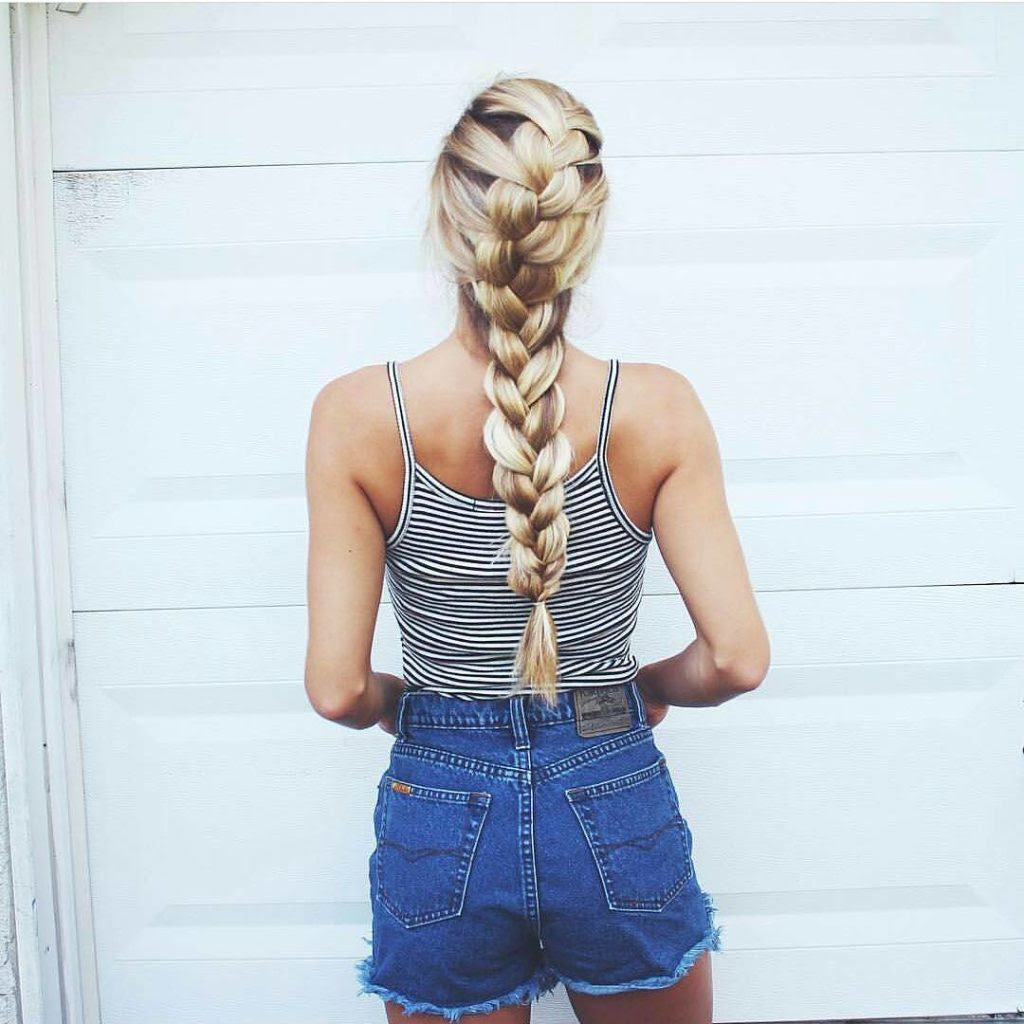 Braided hairstyles for summer - Gazzed