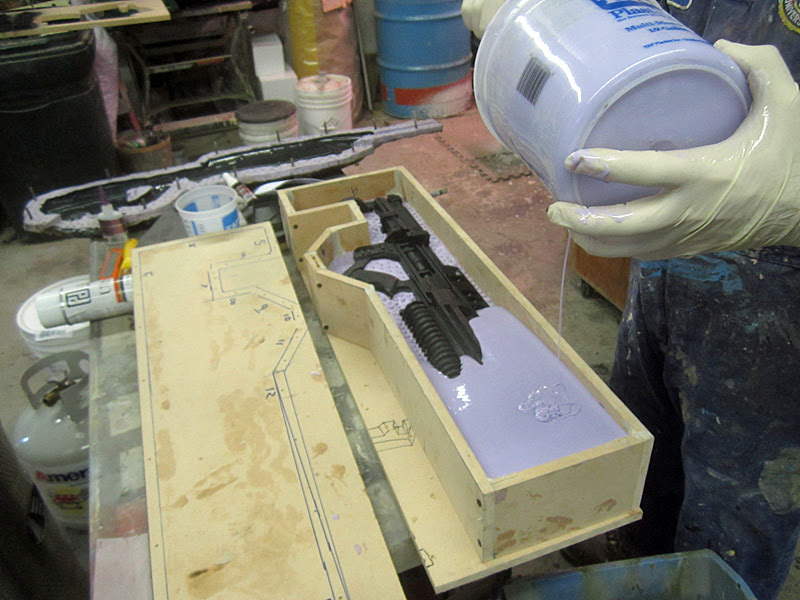 Helghast Rifle 2nd Mold Half