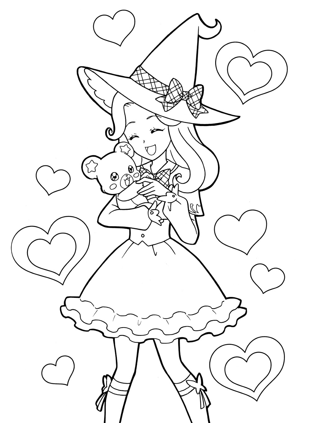 Anime Love Coloring Pages at GetColorings.com | Free ...