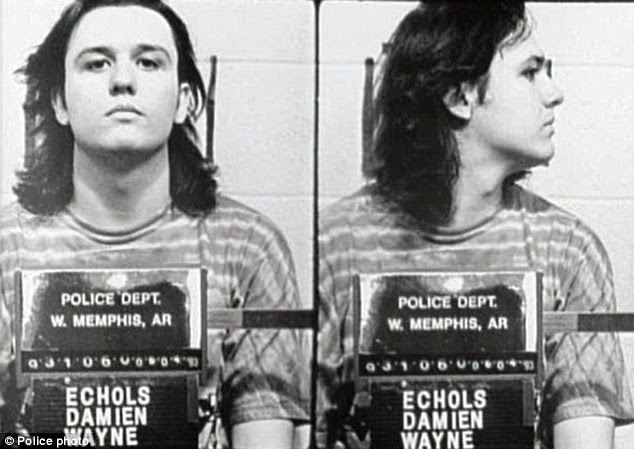 Quest for justice: Damien Echols and his two co-defendants, insisted for years that they were not involved in the murder of the three boys