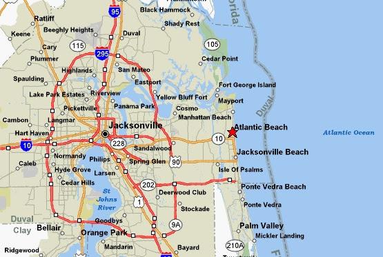 Where Is Jacksonville Jacksonville Is In Northeast