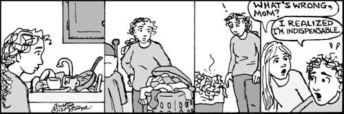 Home Spun comic strip #755