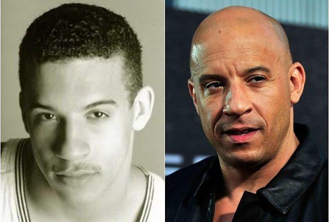 Vin Diesel's Hair Makes Him Almost Unrecognizable - Back ...