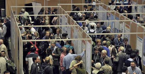 Poster session rush-hour