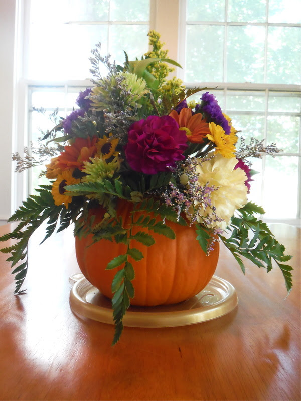 How To Make Pumpkin Floral Arrangements Homeec Home