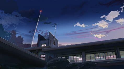 night buildings makoto shinkai  centimeters
