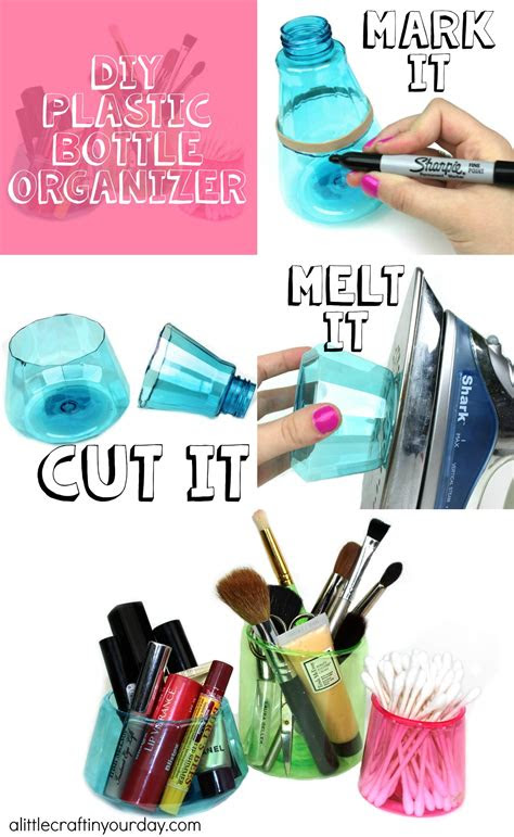 diy plastic bottle organizer   craft   day