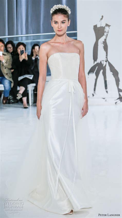 Peter Langner Spring 2018 Wedding Dresses ? New York