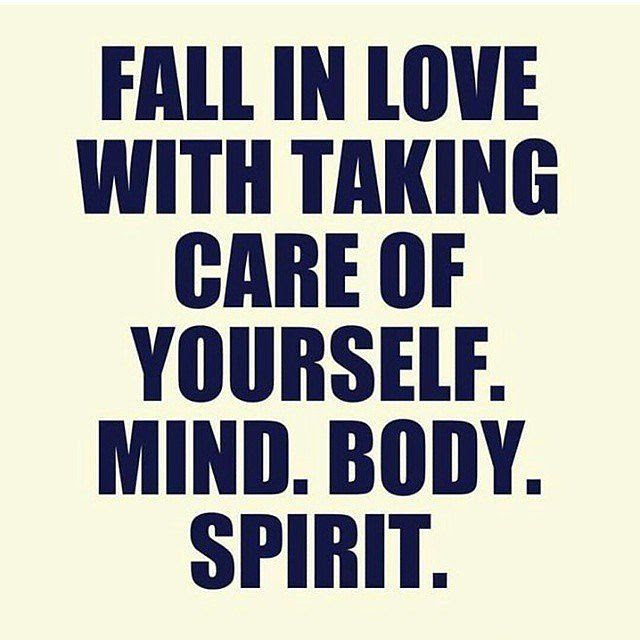 Inspirational Picture Quote Fall In Love With Taking Care Of