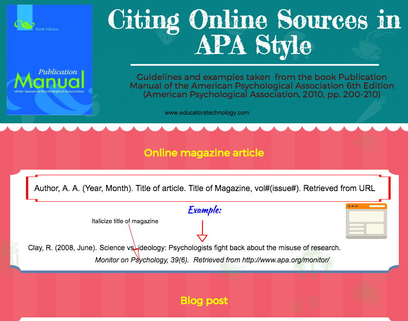 how to cite sources apa style The american psychological association (apa) format provides a set of rules and guidelines for the structure of research papers widely used in the social and behavioral sciences, apa style is best known for its rules on citing sources in your work.