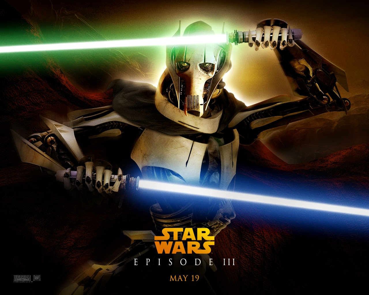 Rots Ep Iii General Grievous Star Wars Revenge Of The Sith