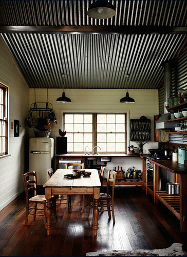Sharyn Cairns {rustic vintage industrial modern kitchen} - a photo