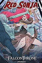 Red Sonja The Falcon Throne book cover