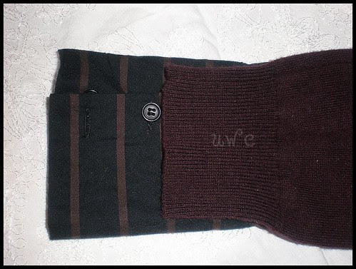 Faux Layered Sweater Refashioning
