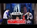 Alton Brown Makes Ice Cream In 10 Seconds - Video