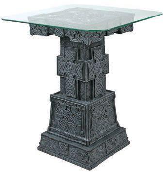 celtic statues celtic tableceltic home decor end table ...