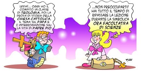 abolizione dell'ora di religione cattolica dalle scuole pubbliche italiane