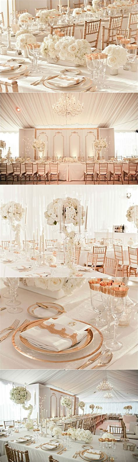 25  best ideas about Rose Gold Weddings on Pinterest