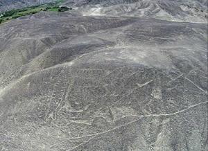 The petroglyph before restoration mini