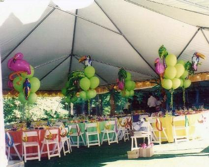 Mitzvah Inspire: Backyard Luau   MitzvahMarket