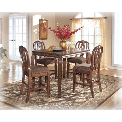ashley furniture hamlyn counter height leaf table