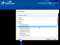 Mandriva Installation Screenshot 14