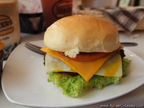 Stackers Burger Cafe - penthouse burger promo PHP 366 only - photos by Azrael Coladilla