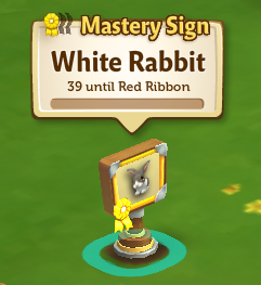 Animal Mastery - FarmVille 2 - Mastery Sign