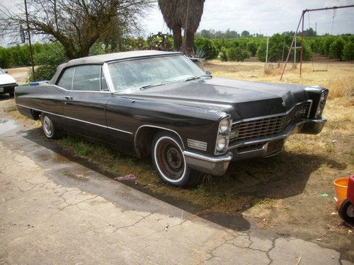 Sell new 1967 Cadillac coupe deville Convertible in ...