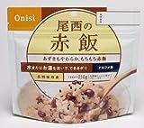 尾西食品 赤飯 ( アルファ米 )