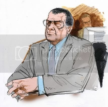 Rick Halprin's client, Joseph Lombardo could not resist a few cracks from the witness stand as 'Joey is Joey