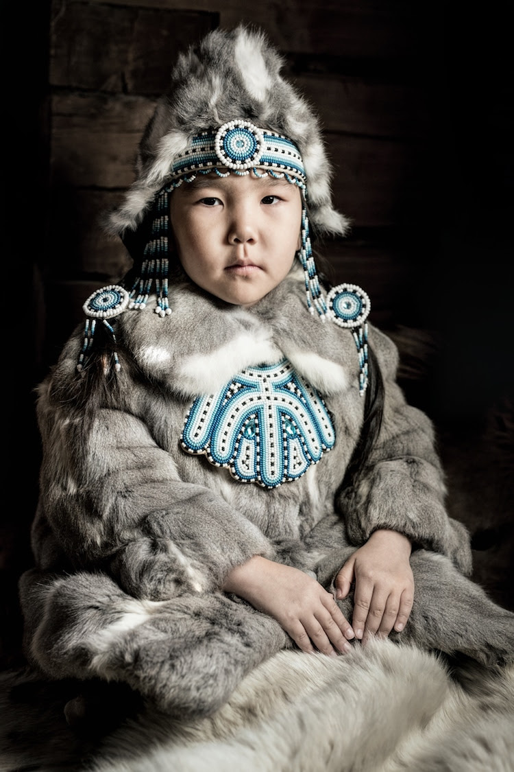 personnes Evenki sibérie