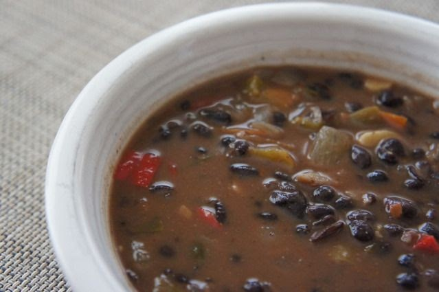Anne's Odds and Ends: Black Bean Vegetable Soup Recipe ...