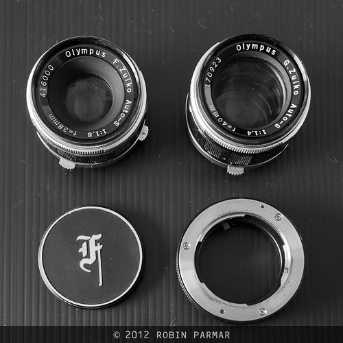 PEN F lenses