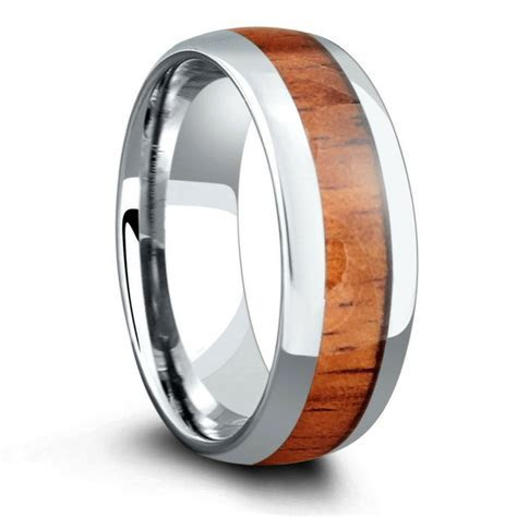 The Classic   The Original Wood Ring (8mm width
