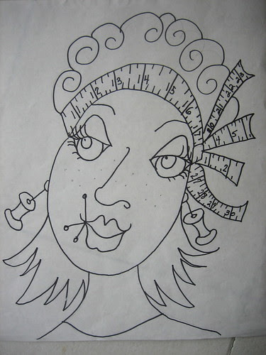 Rita - the drawing