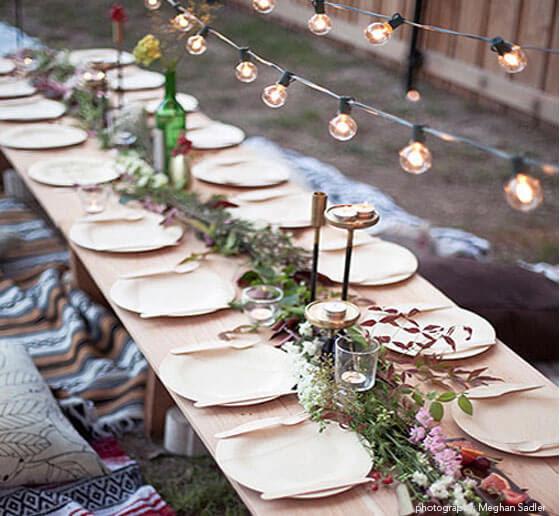 Compostable Plates Wedding Planning Ideas Bambu