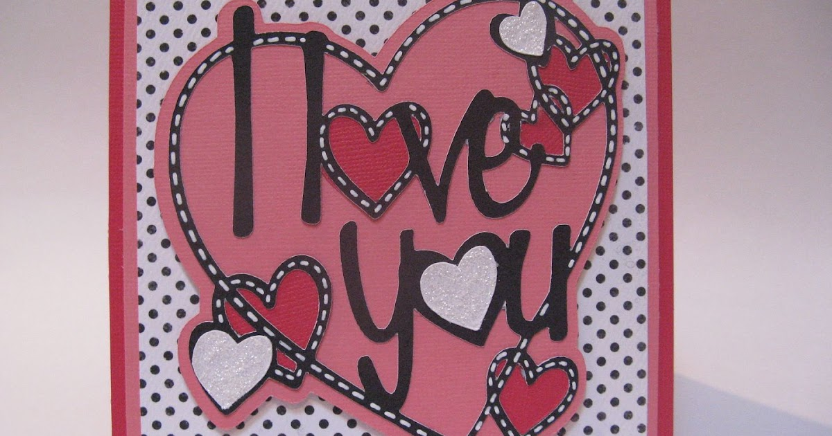 courtney lane designs i love you card made using the