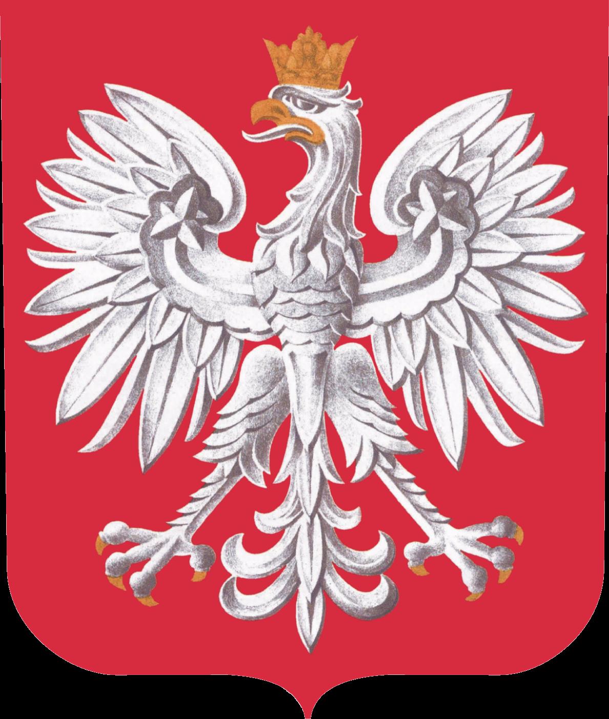 oficjalny herb III RP zwany godłem