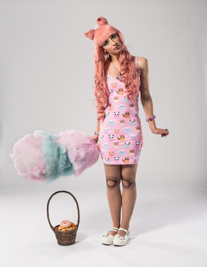 Pink Bunny Ears Wig 90cm Long - HeadStrongSolutions