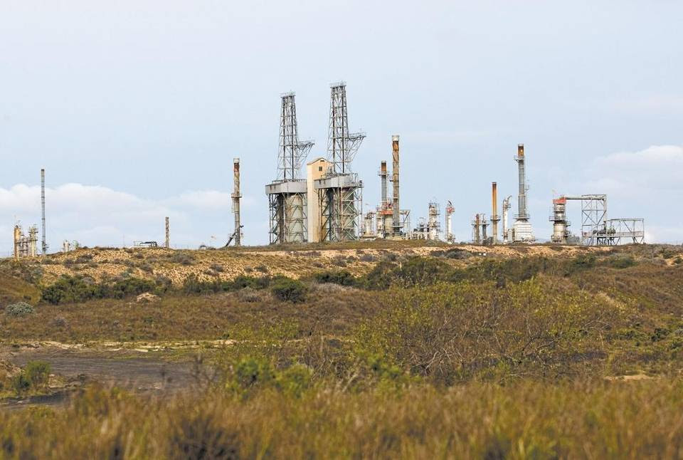 The Phillips 66 refinery on the Nipomo Mesa.